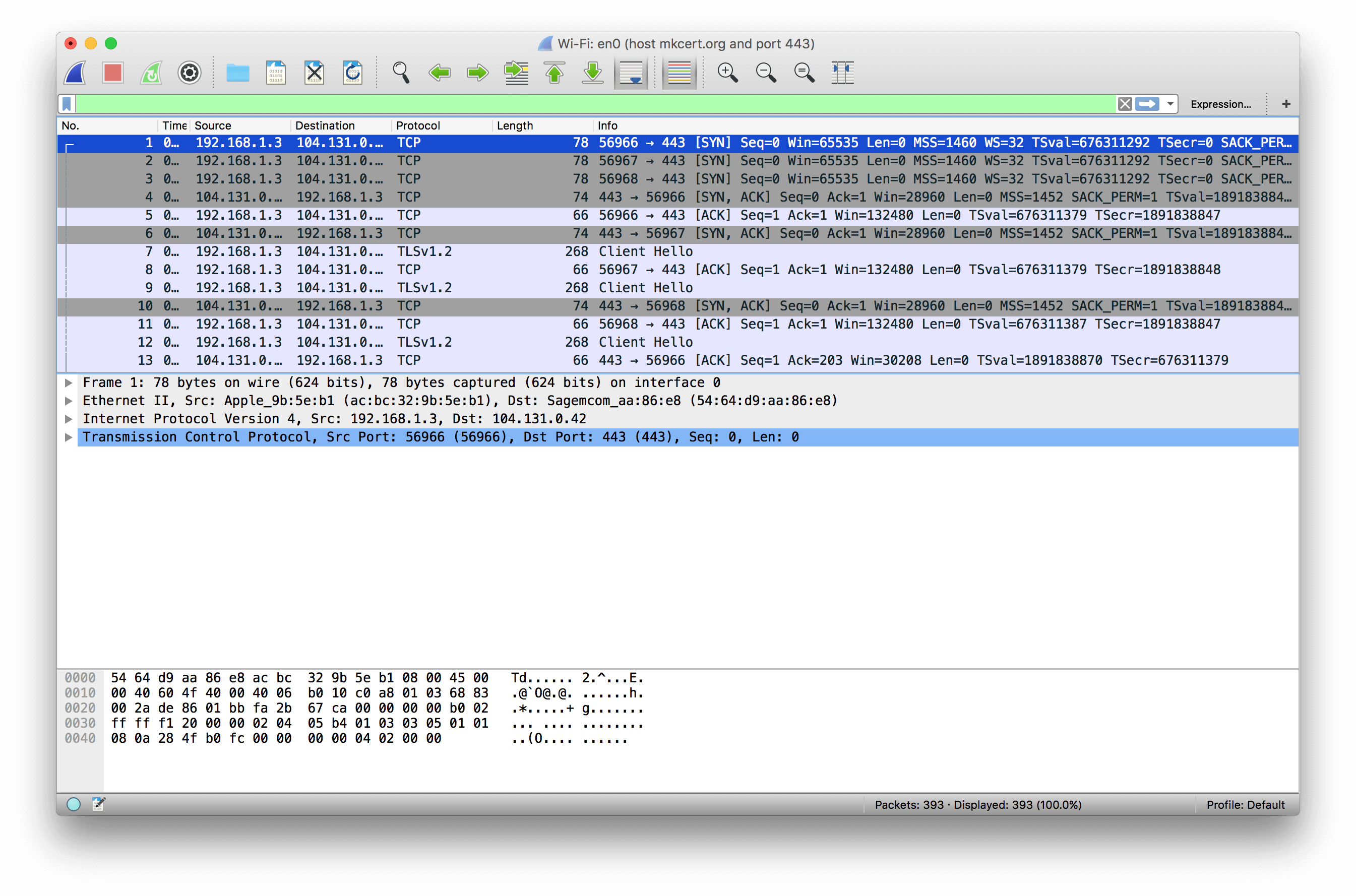 Debugging With Wireshark: TLS • Lukasa's Echochamber